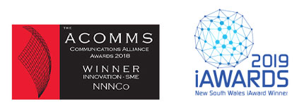 ACOMMS - IAwards Logo