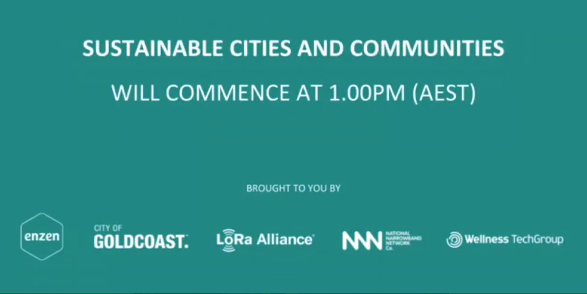WEBINAR - Sustainable Cities & Communities: Scaling IoT for resilience and growth